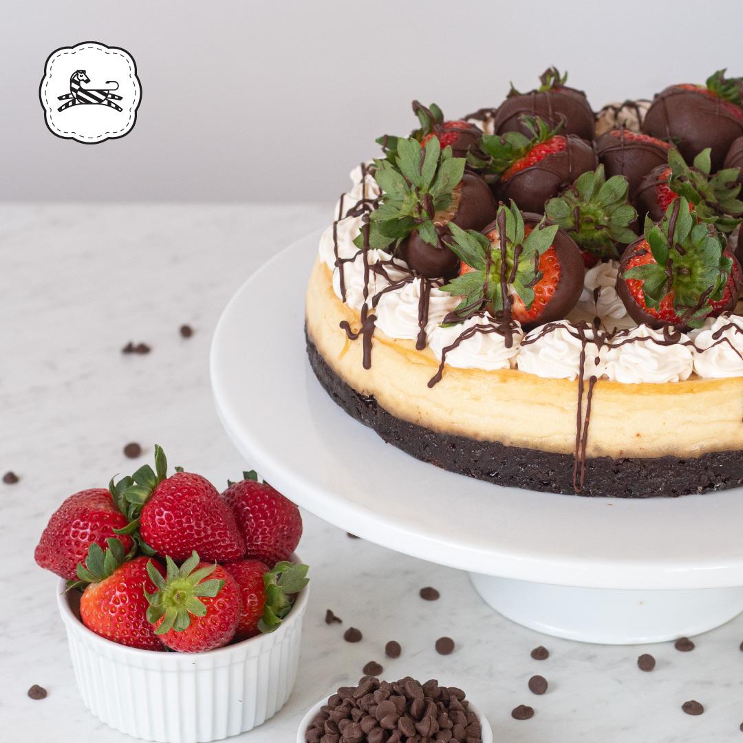Suqiée - Los Pasteles de Luzma - Cheesecakes - Brownie Cheesecake con Fresas