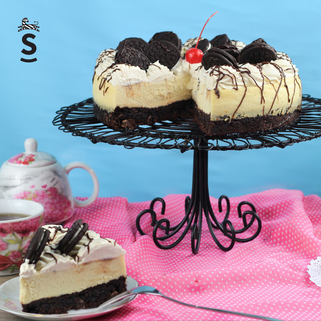 Suqiée Repostería - Cheesecakes - Brownie Cheesecake Oreo