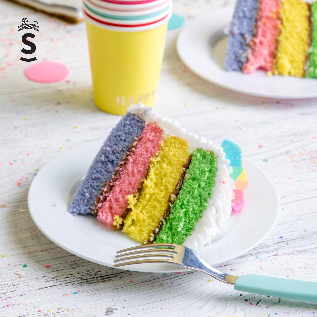 Suqiée - Los Pasteles de Luzma - Pasteles - Cakes - Pastel Arcoíris