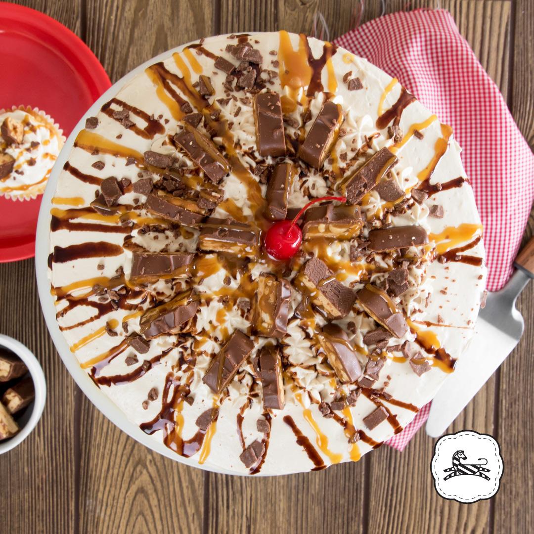 Suqiée - Los Pasteles de Luzma - Pasteles - Cakes - Pastel de Snickers