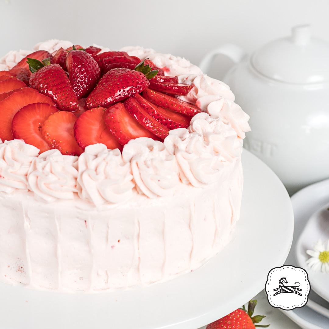 Suqiée Repostería - Pasteles - Cakes - Pastel de Yogurt de Fresas