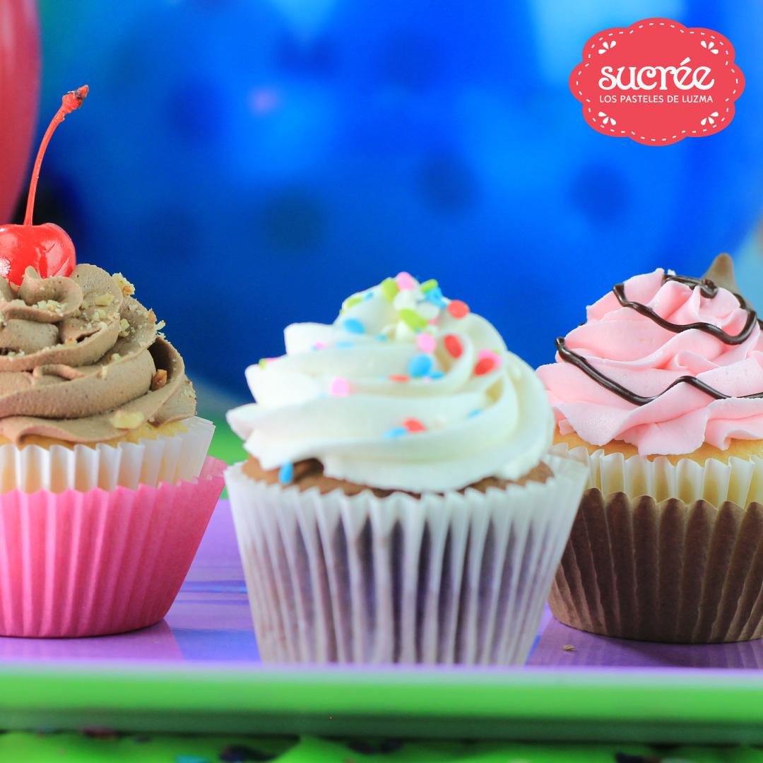Sucrée - Los Pasteles de Luzma - Bollitos - Cupcakes