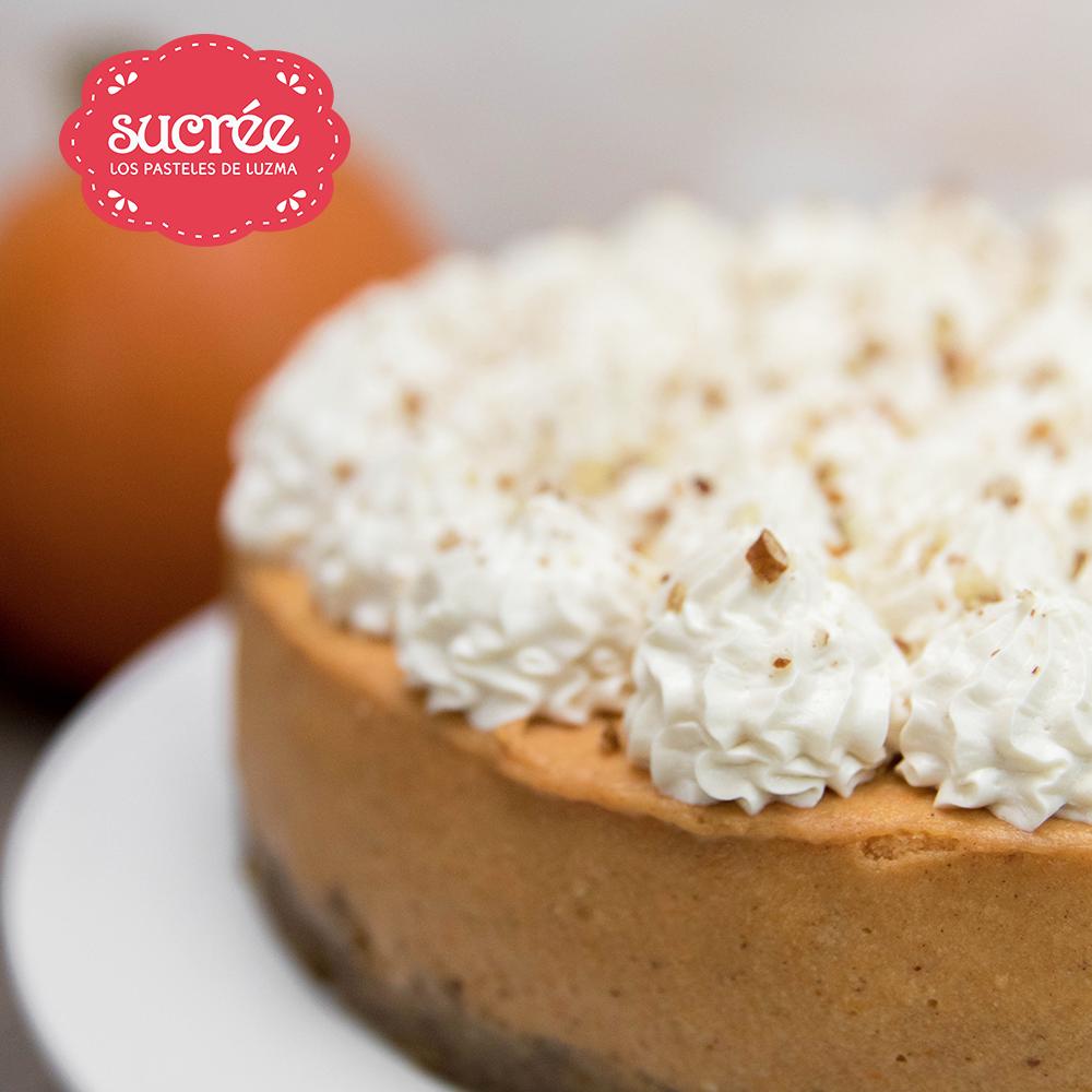 Sucrée - Los Pasteles de Luzma - Noviembre - Cheesecake Calabaza