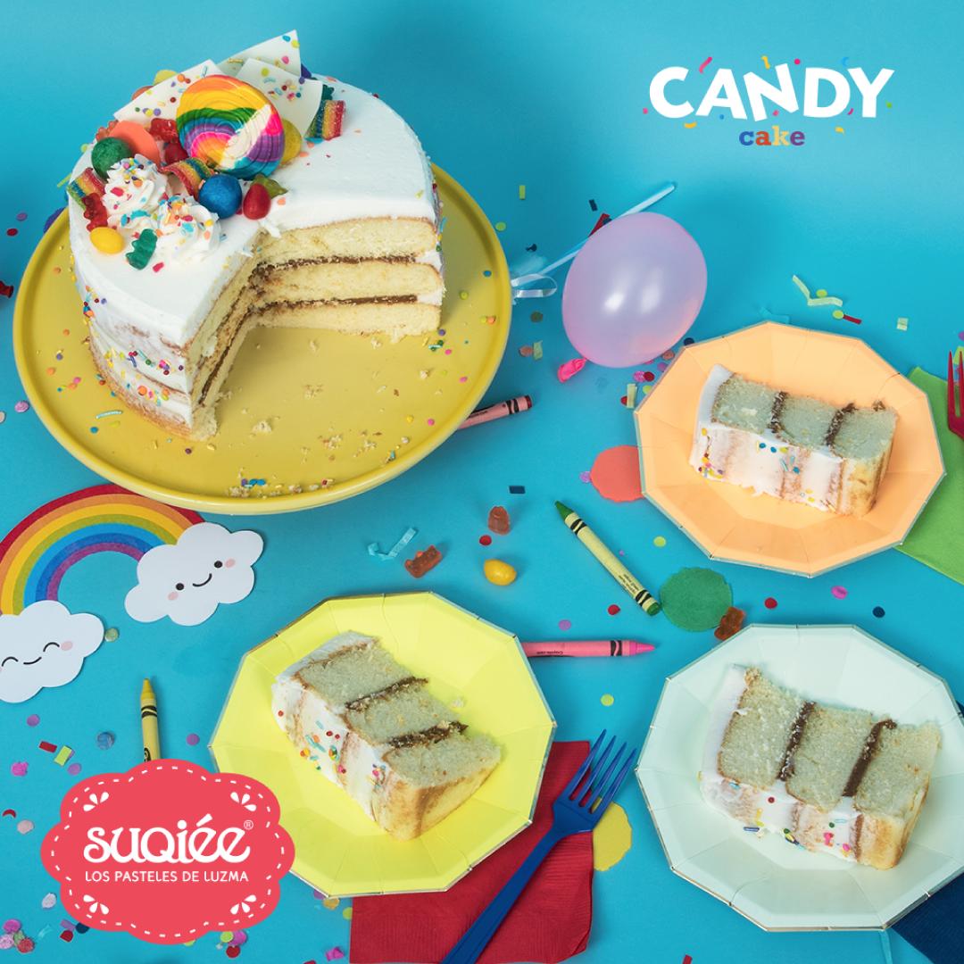Suqiée - Los Pasteles de Luzma - Pasteles - Día del Niño - 30 de Abril - Candy Cake