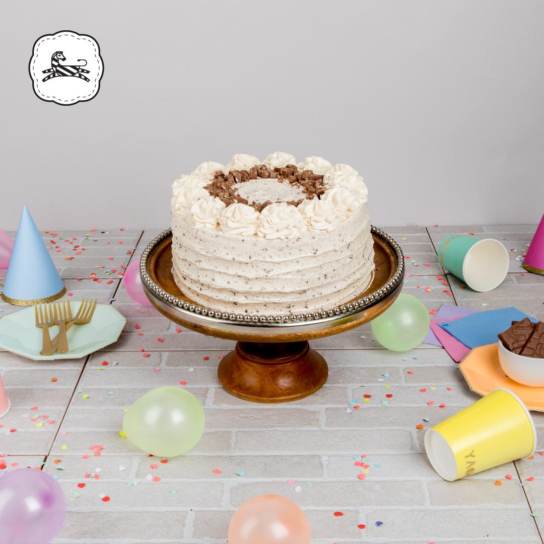 Suqiée - Los Pasteles de Luzma - 10 Años Celebrando - Pastel Crunch