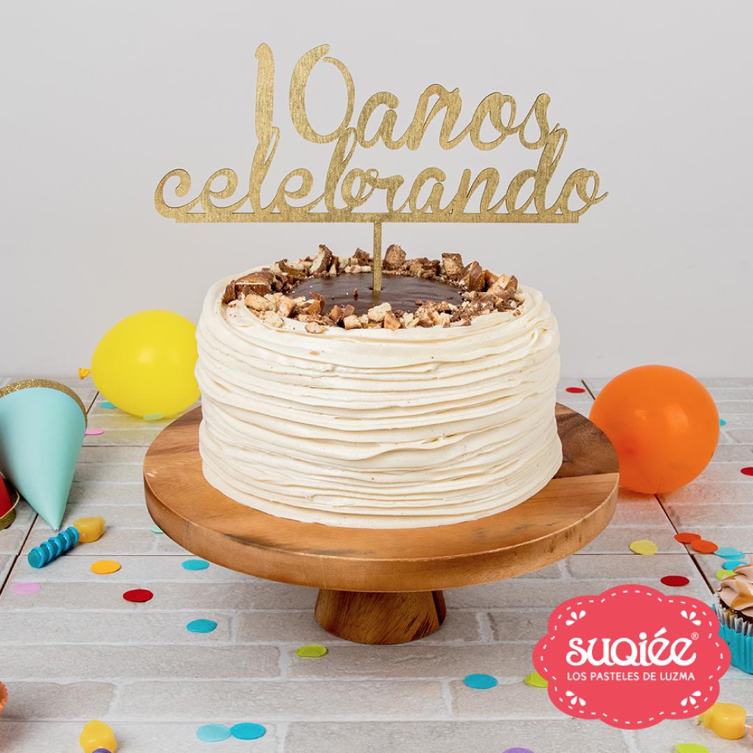 Suqiée - Los Pasteles de Luzma - 10 Años Celebrando - Pastel Twix