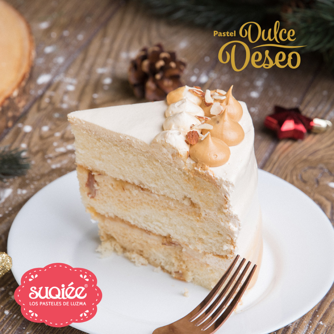 Suqiée - Los Pasteles de Luzma - Diciembre - Pastel Dulce Deseo