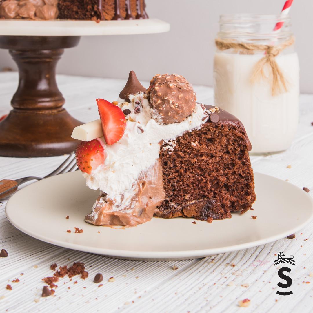 Suqiée Repostería - Pasteles - Pastel Volcán de Chocolate