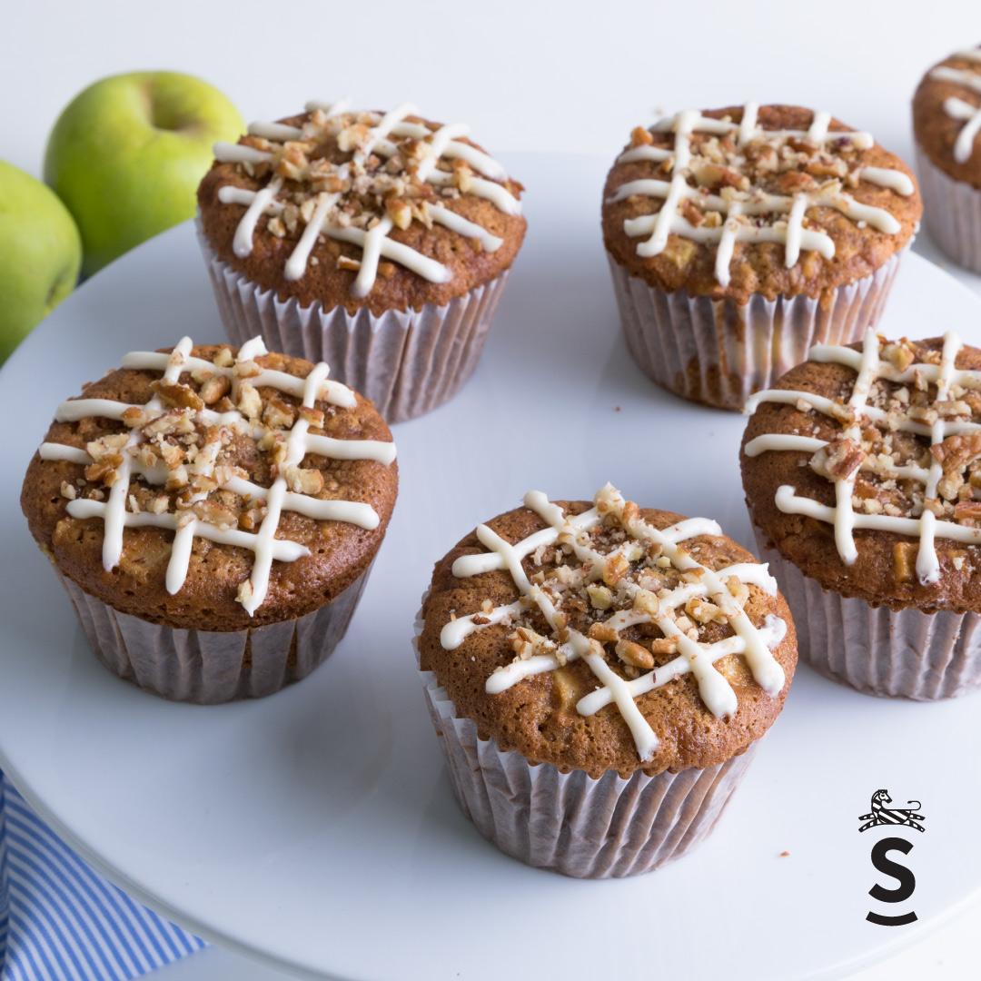 Suqiée Repostería - Muffins - Muffins de Manzana