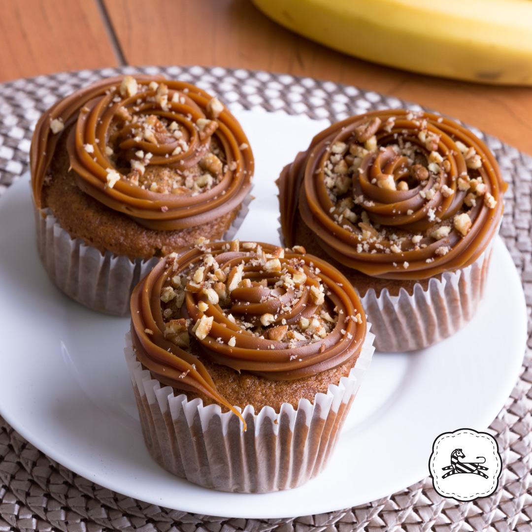 Suqiée - Los Pasteles de Luzma - Muffins - Muffins de Plátano