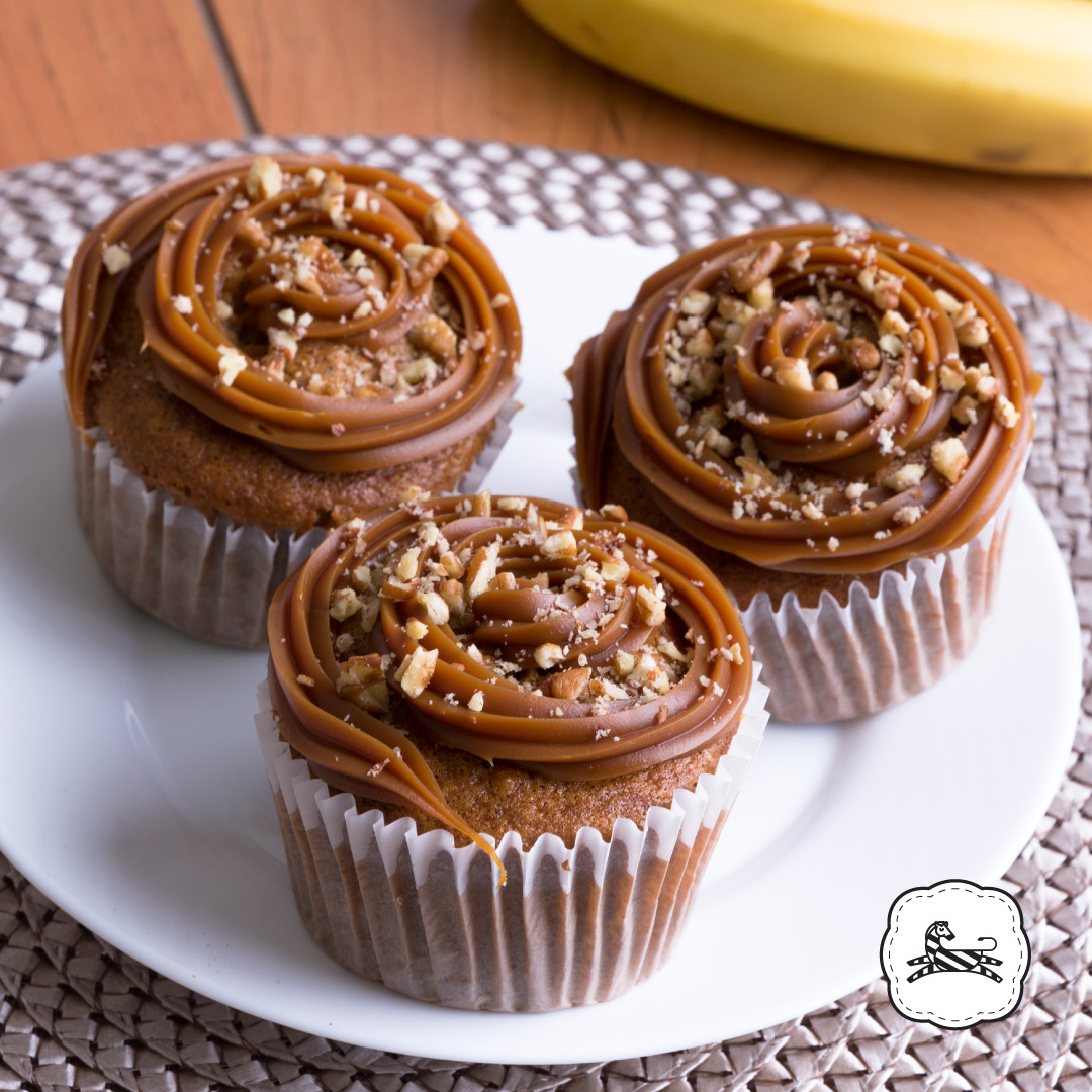 Suqiée Repostería - Muffins - Muffins de Plátano