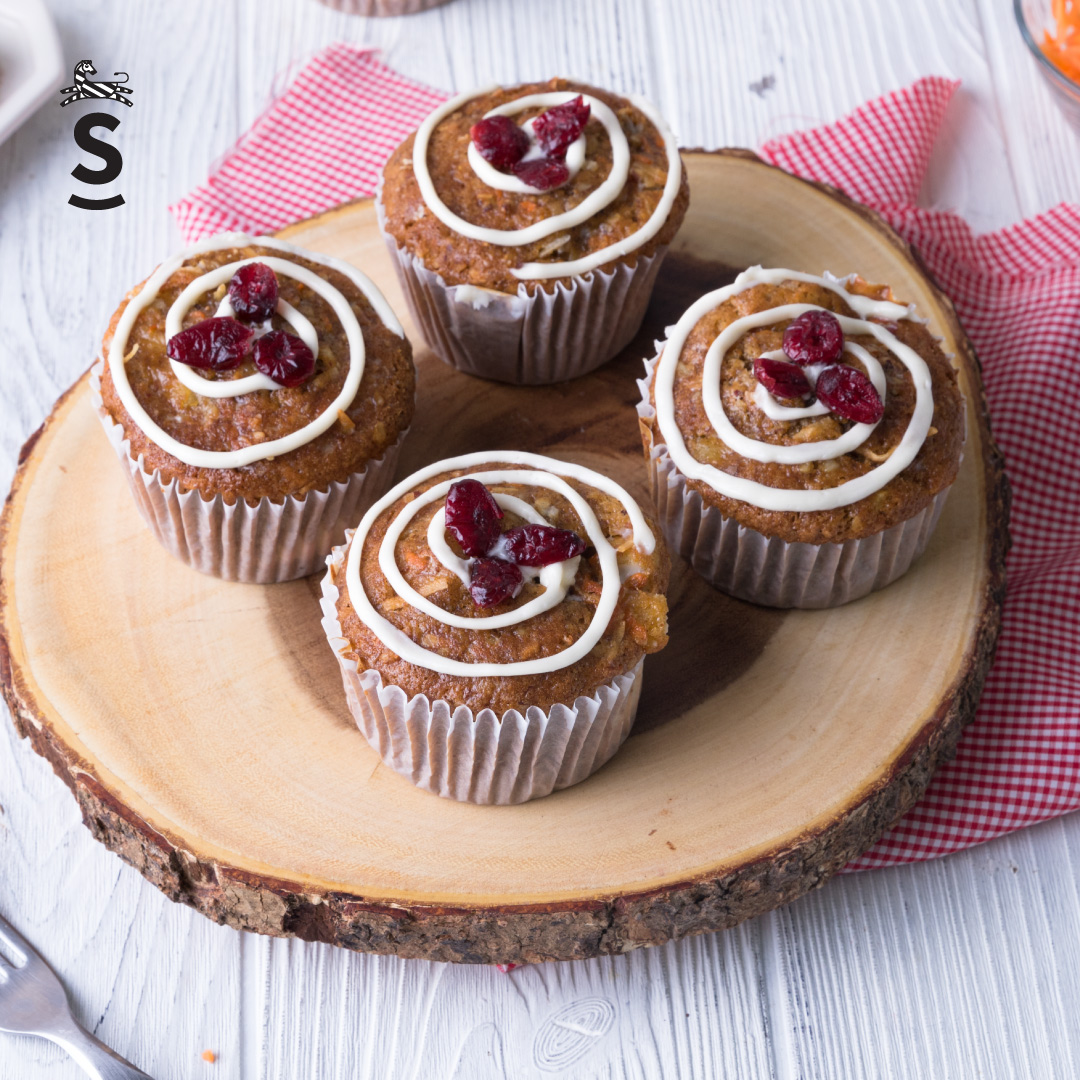 Suqiée Repostería - Muffins - Muffins de Zanahoria