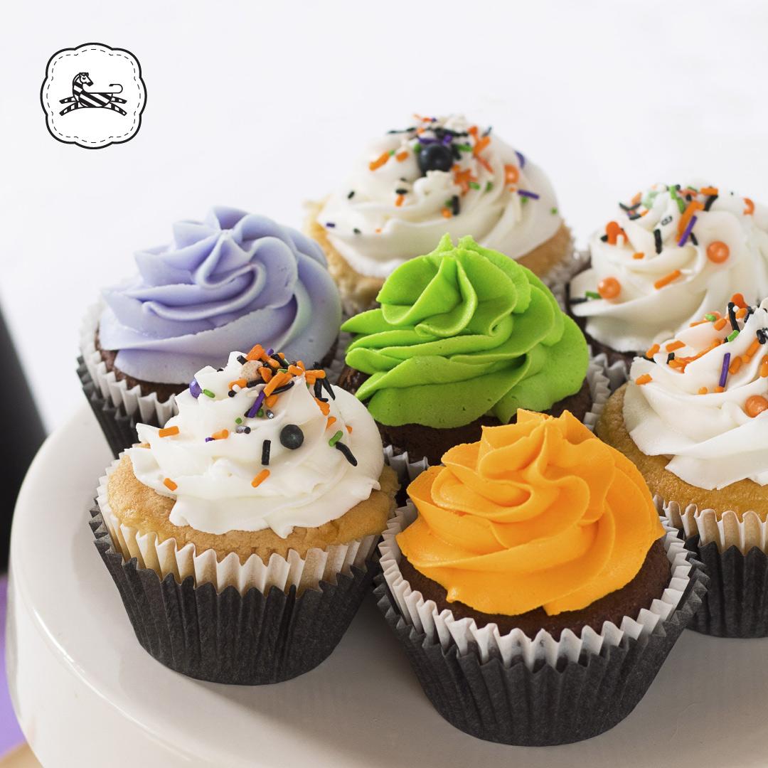 Suqiée Repostería - Bollitos Decorados - Cupcakes Decorados - Bollitos Decorados Octubre