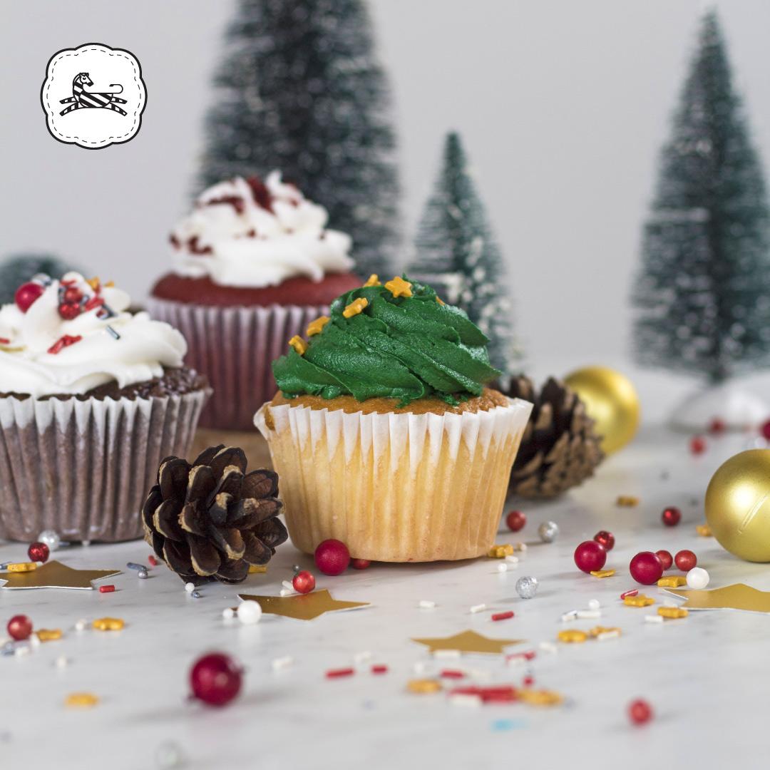 Suqiée Repostería - Bollitos - Cupcakes - Bollitos Navideños