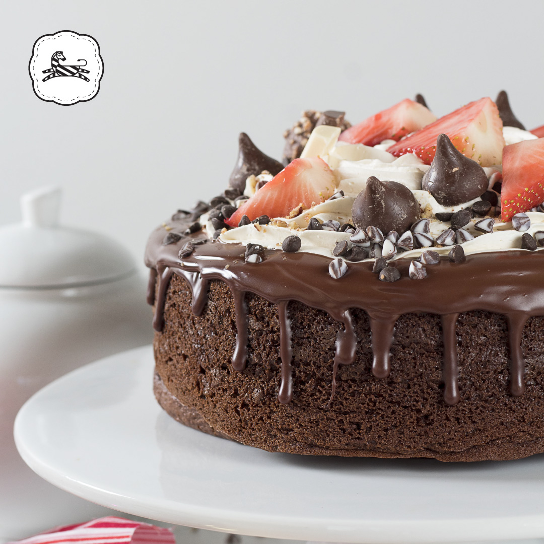 Suqiée Repostería - Pasteles - San Valentín 14 de Febrero Pastel Volcán de Chocolate