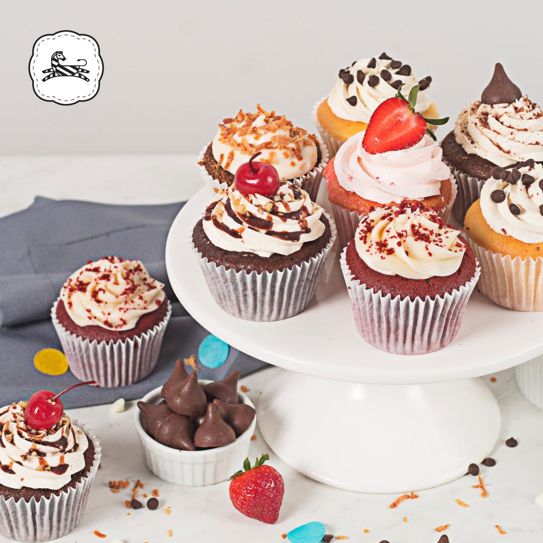 Suqiée Repostería - Día del Maestro - 15 de Mayo - Bollitos Decorados - Cupcakes