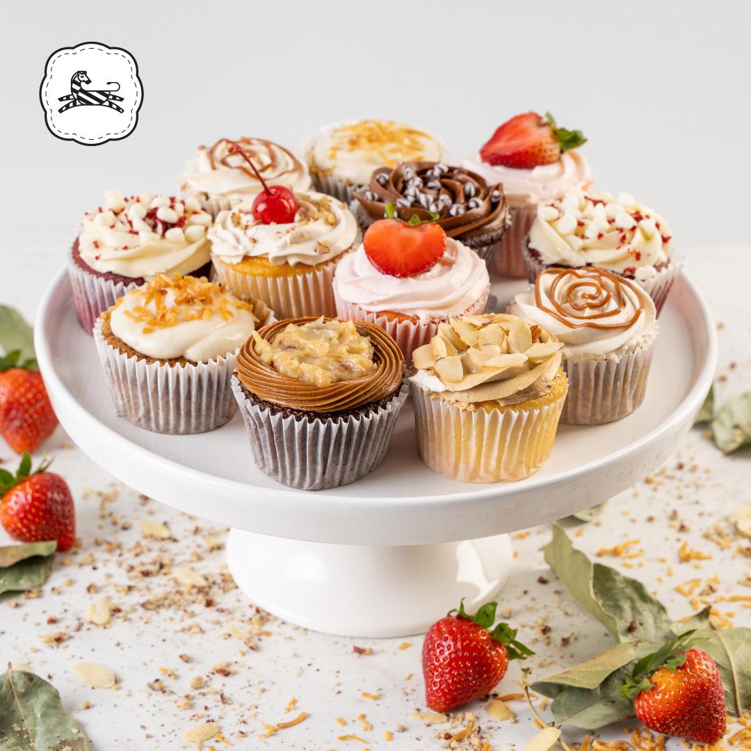 Suqiée Repostería - Bollitos Decorados - Cupcakes - Charola Especial de Bollitos
